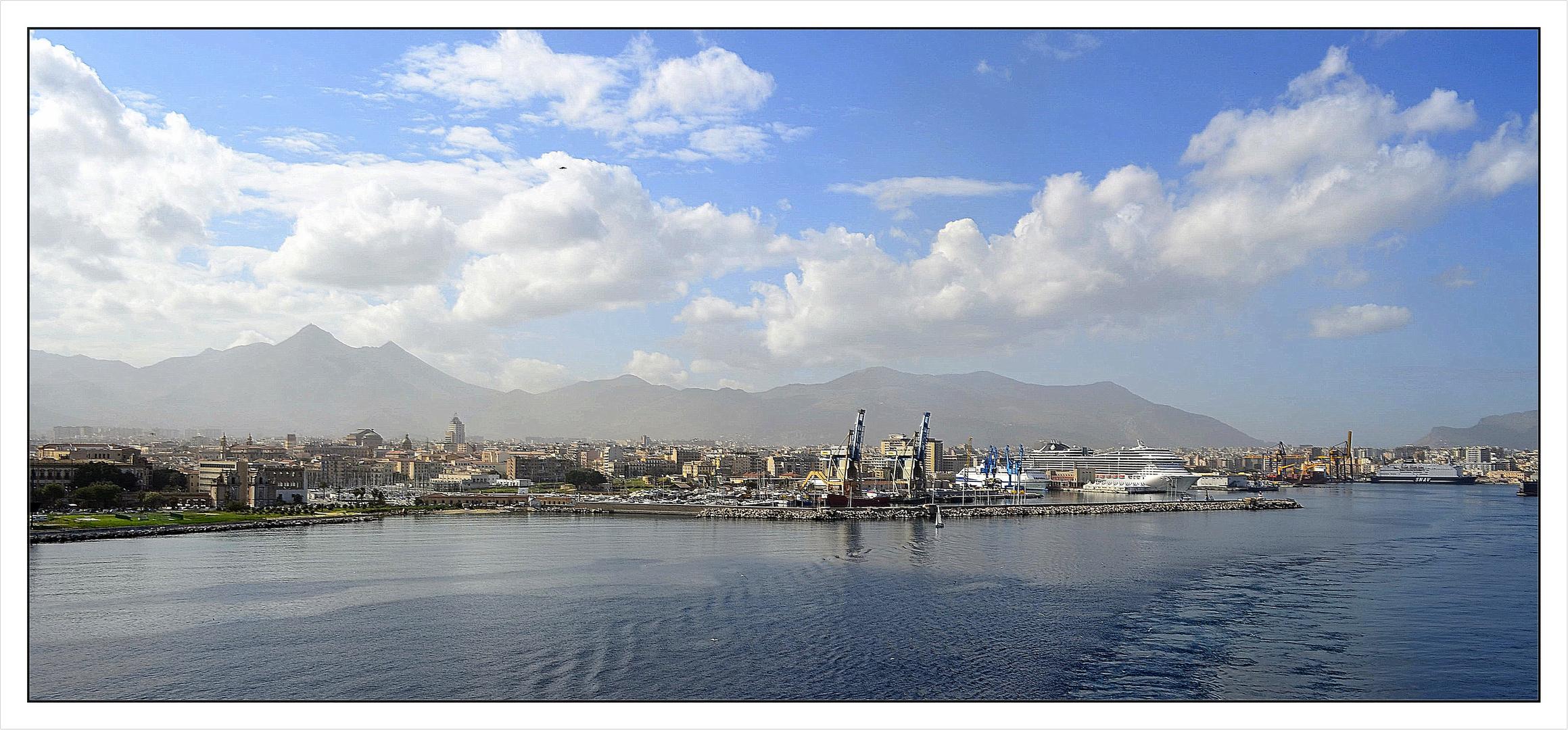 Die Skylines von Palermo!