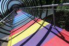 """Die """" Slinky - Springs """" - Brücke ist fertig ! Wo ?  In Oberhausen..."""