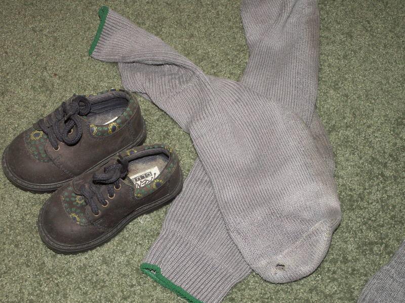 die socke.....