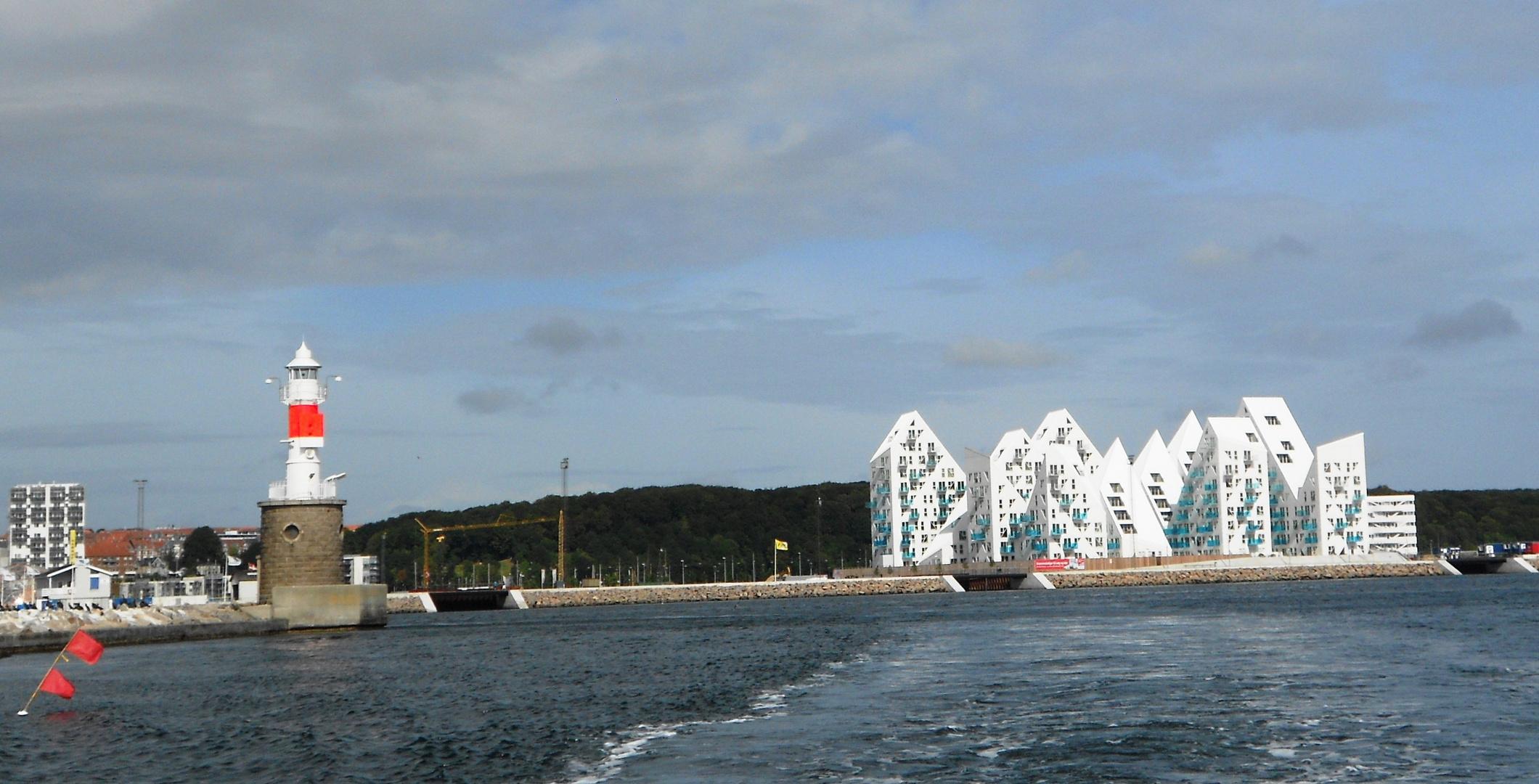 """die sogenannten """"Eisberge"""" in Aarhus/Dänemark"""