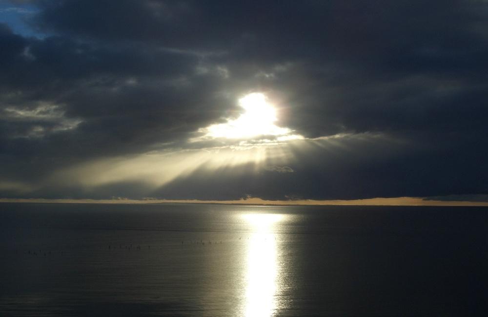 Die Sonne bricht durch