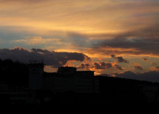 Die Sonne des vorigen Tages 2