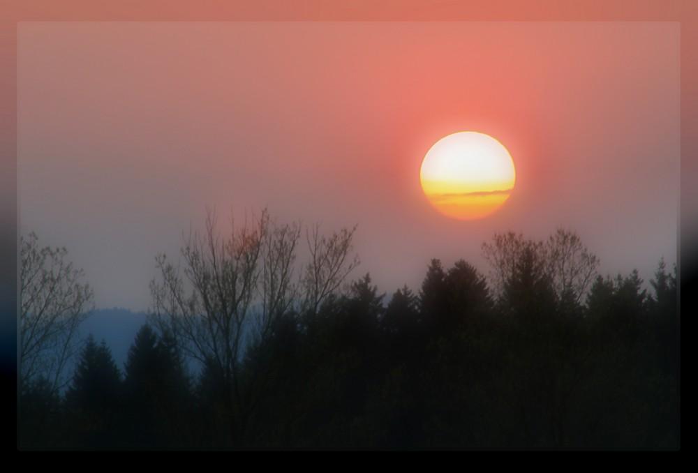 Die Sonne geht...