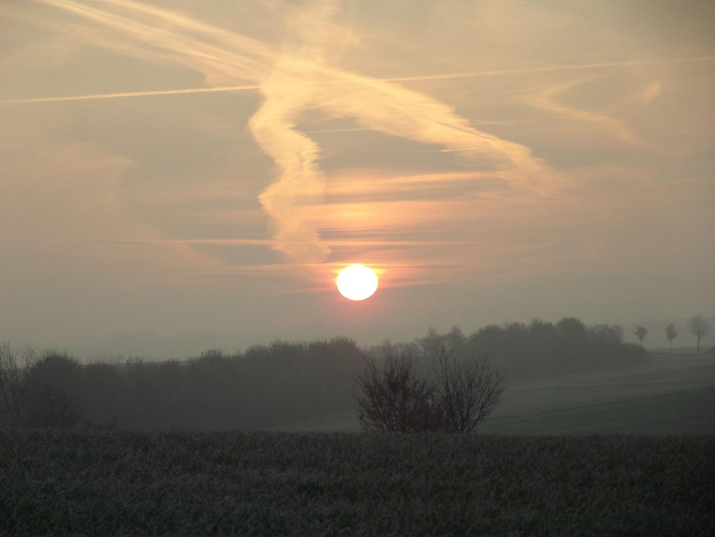 ...die Sonne geht auf...