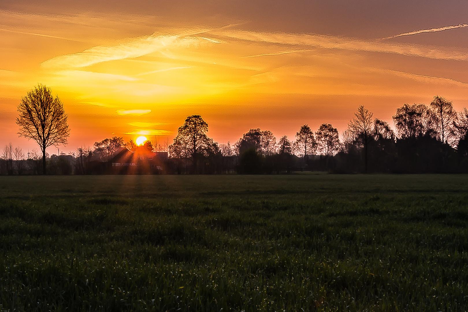 Die Sonne geht auf...