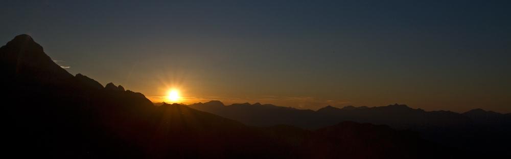 Die Sonne geht