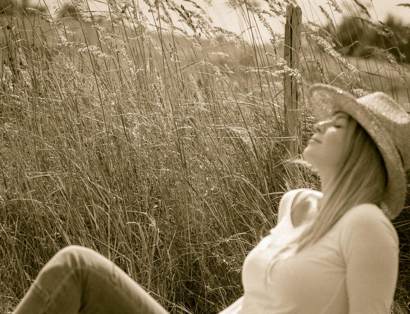 ... die Sonne geniesen