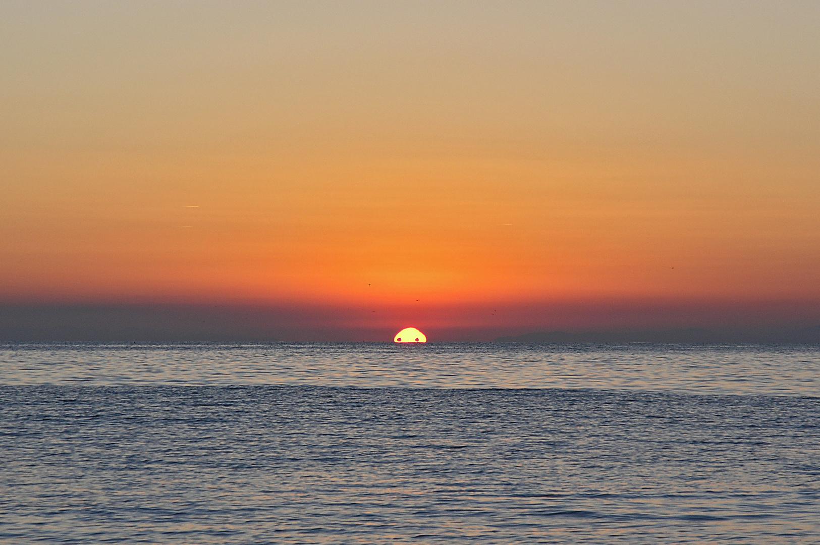 Die Sonne hat zwei Augen – oder sind es doch nur Schiffe?
