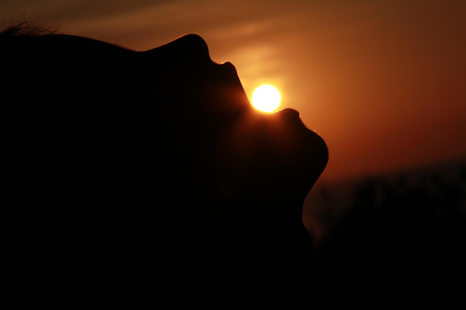 Die Sonne im Mund
