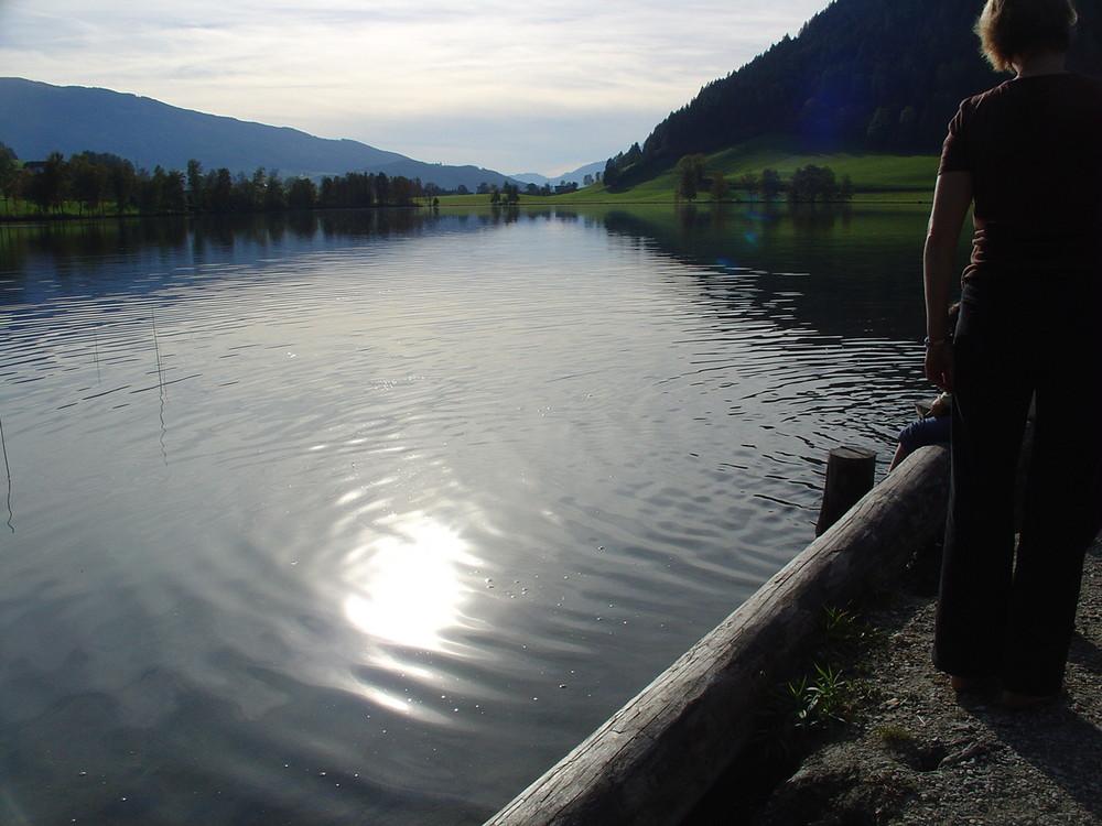 Die Sonne im See