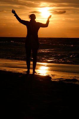 Die Sonne in der Hand