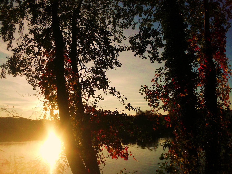 Die Sonne ist im See versunken ...