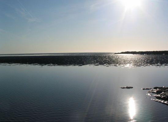 Die Sonne und das Meer (Nordsee)
