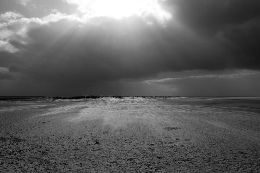 Die Sonne und die Wüste...