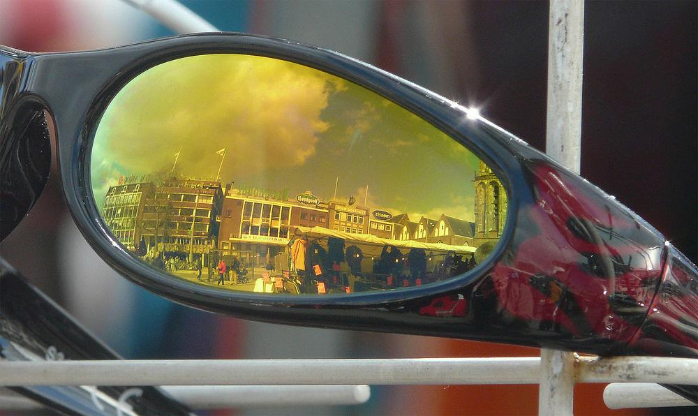 Die Sonnenbrille