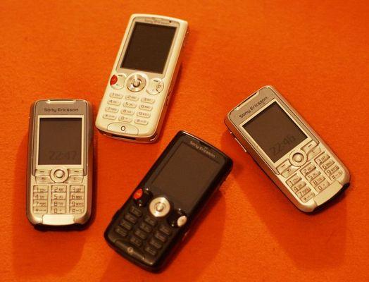 Die Sony Ericsson Familie