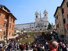 Die spanische Treppe in Rom