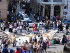 Die spanische Treppe in Rom Teil 2