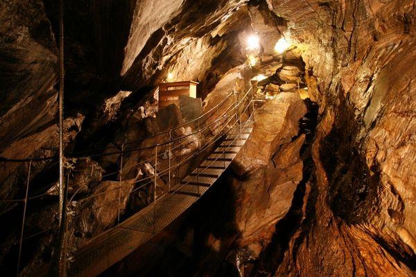 Die Spannagel-Höhle in den Tuxer Alpen / Österreich