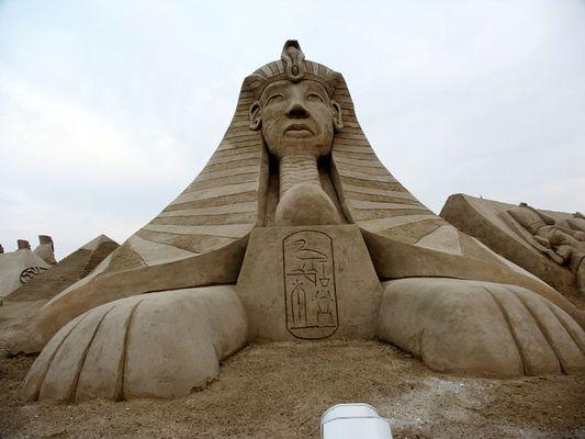 Die Sphinx in Travemünde