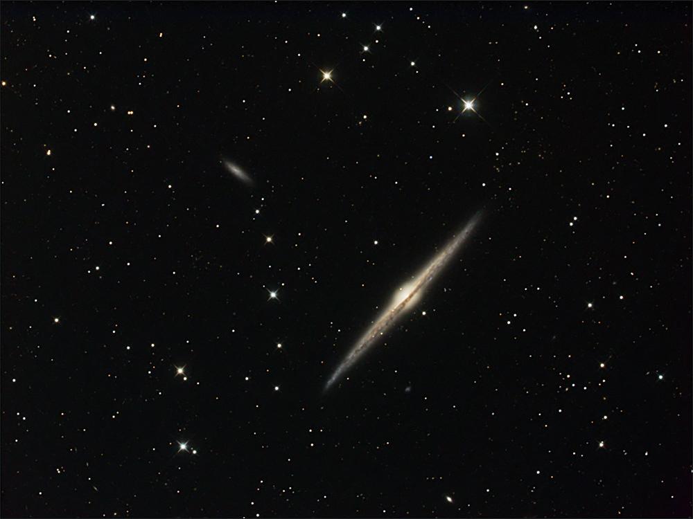 Die Spindelgalaxie NGC 4565