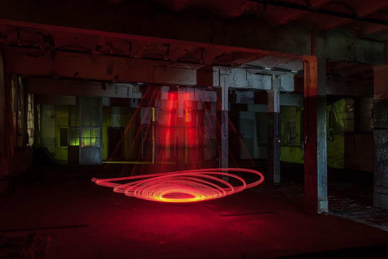 Die Spirale des Lichts.