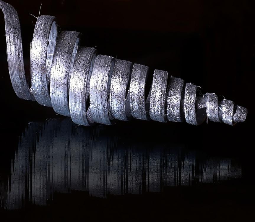 die Spirale - oder ist es ein Hobelspan ?