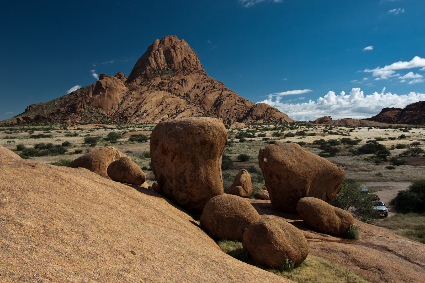 Die Spitzkoppe in Namibia