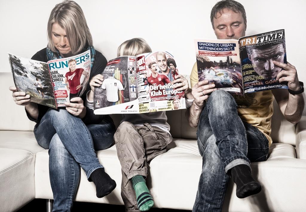 Die sportliche Familie