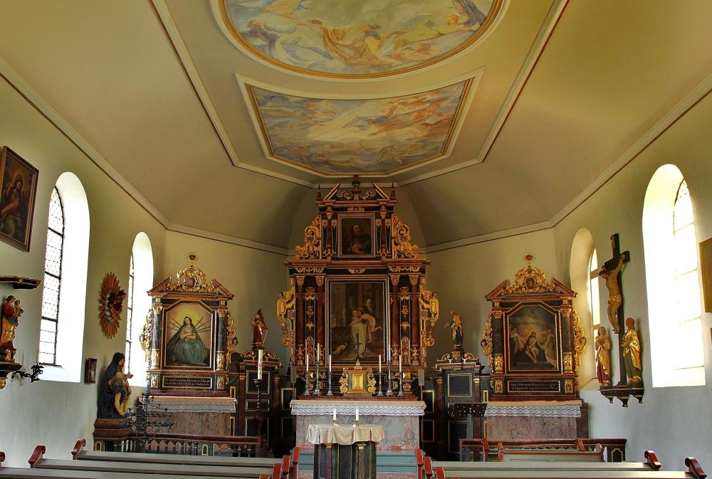 die St. Peter Kapelle auf dem Petersberg