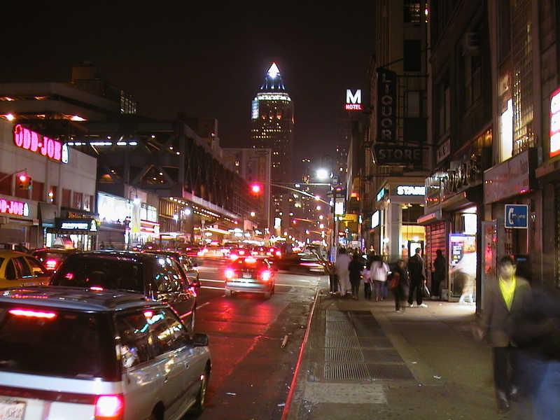 Die Stadt, die niemals schläft.
