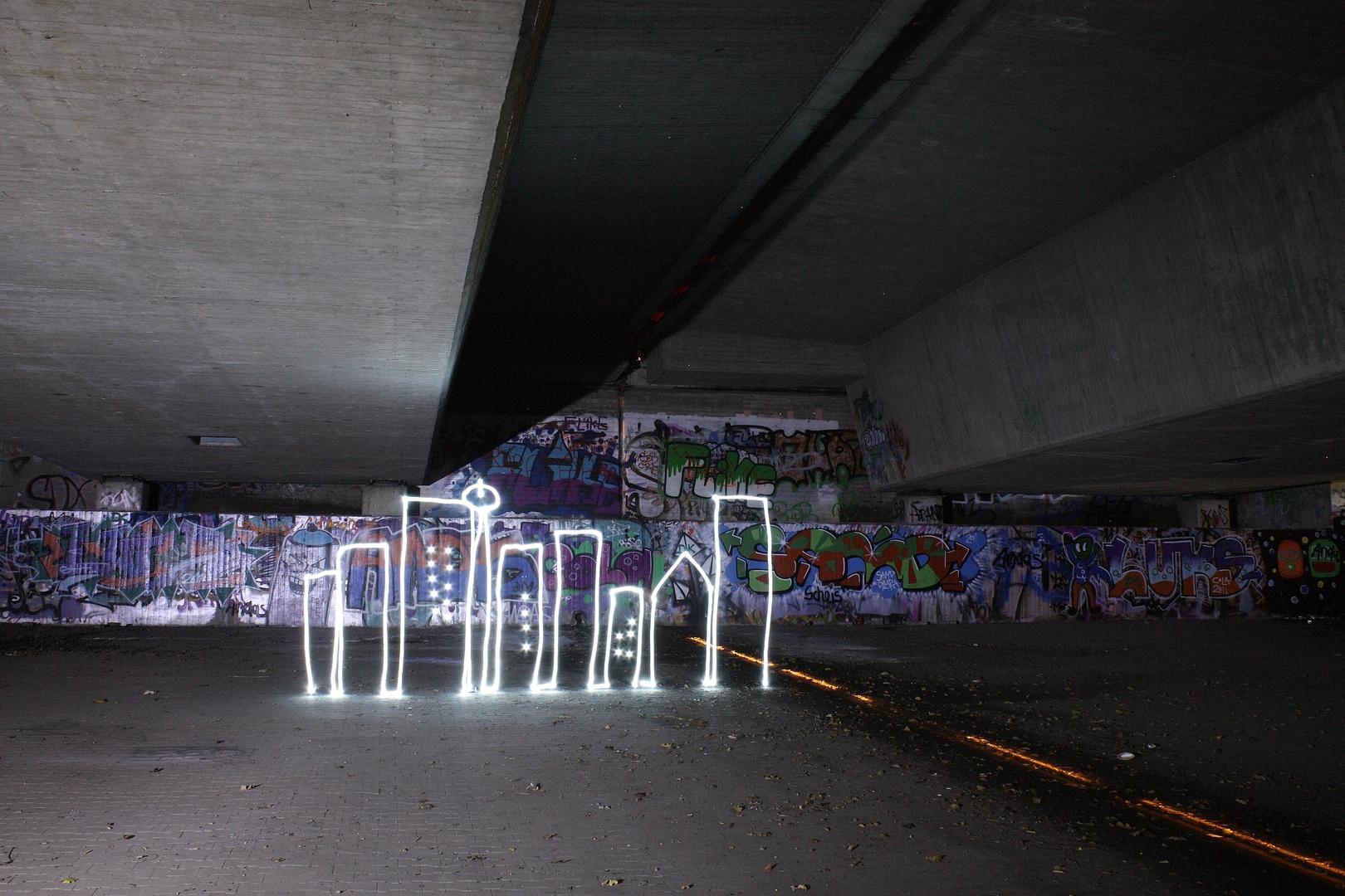 Die Stadt im Dunkeln