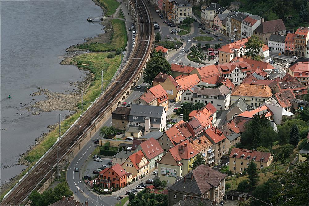 Die Stadt Königstein