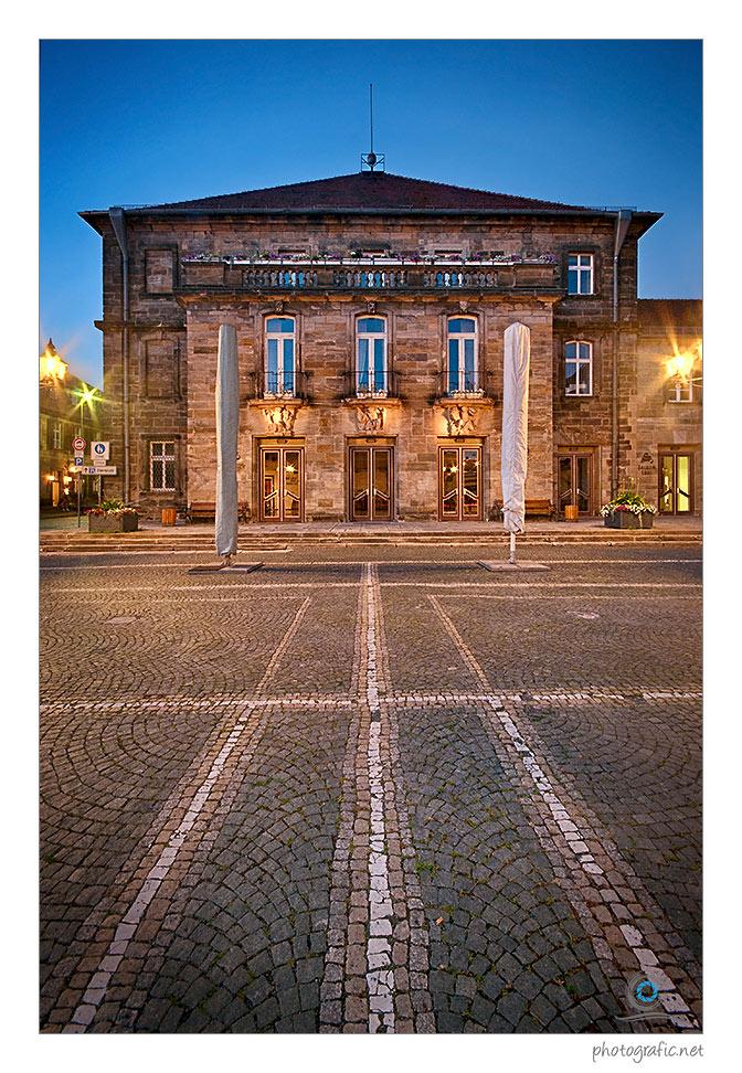Die Stadthalle Bayreuth