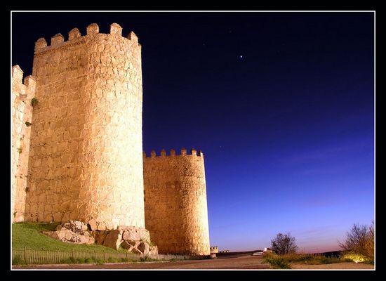 Die Stadtmauer von Avila