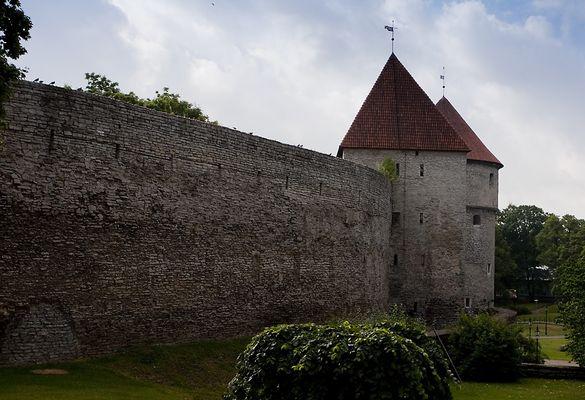 Die Stadtmauer von Tallinn
