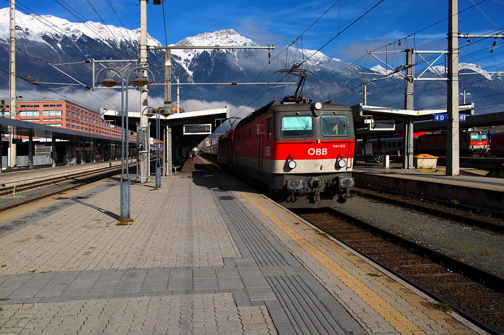 Die stärksten Lokomotiven im Innsbrucker HBF