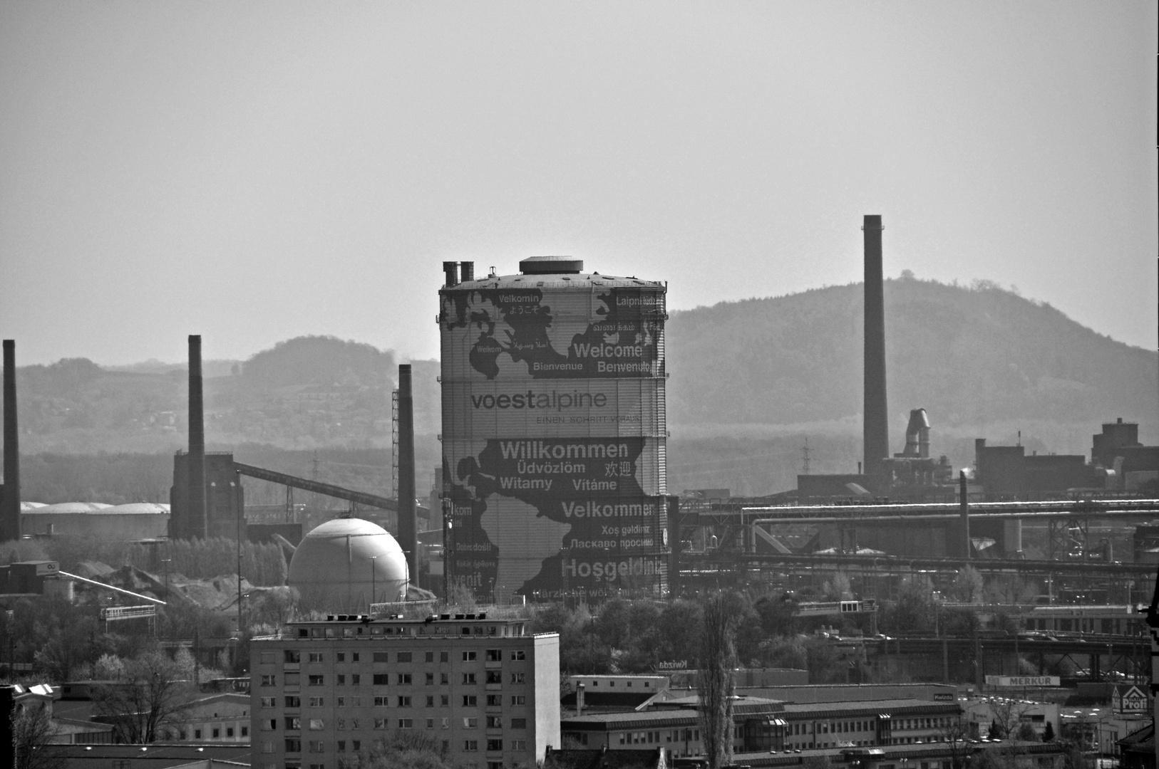 Die Stahlstadt Linz