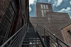Die Stahltreppe