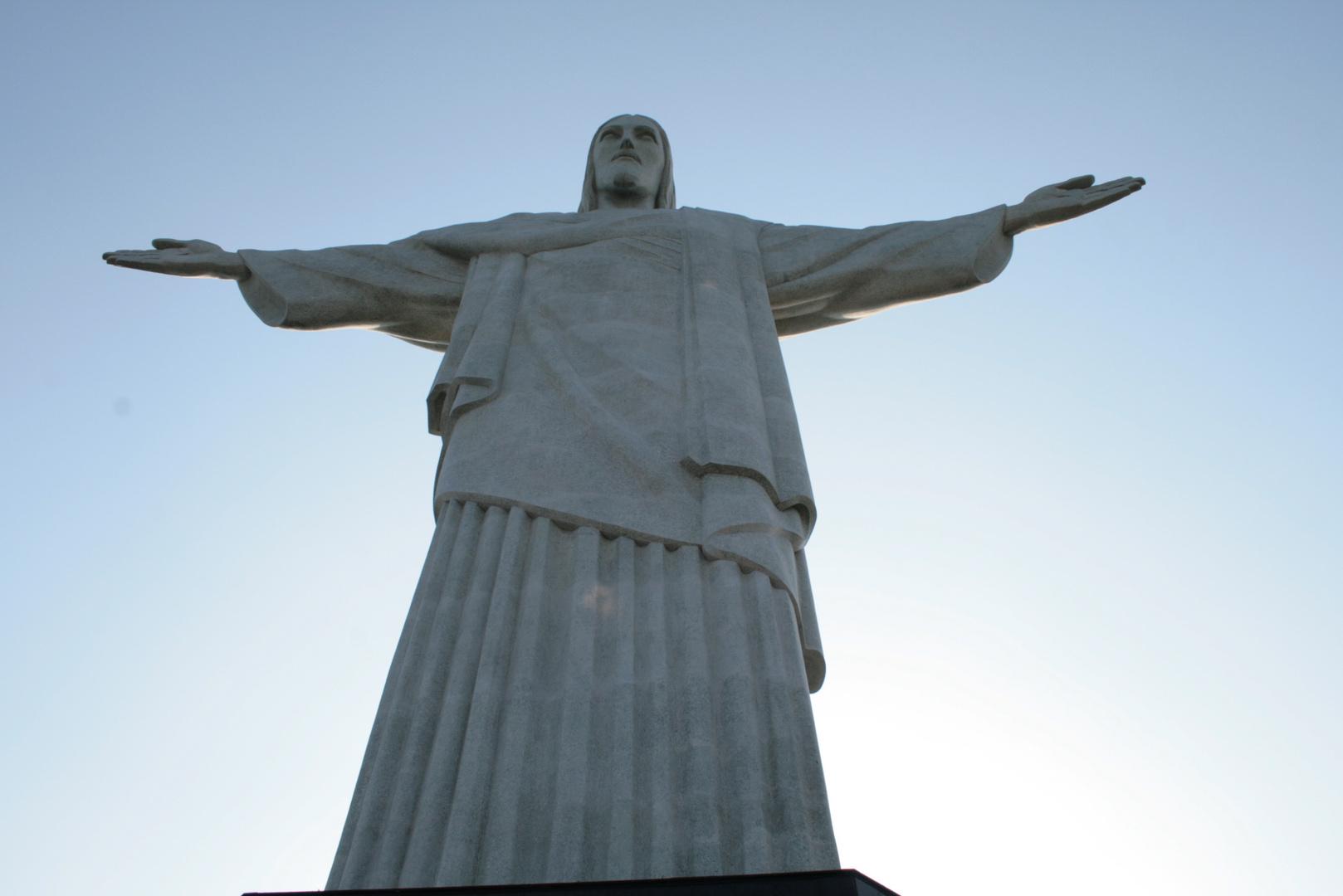 Die Statue - der Christus