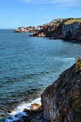 Die Steilküste bei  L' Escala