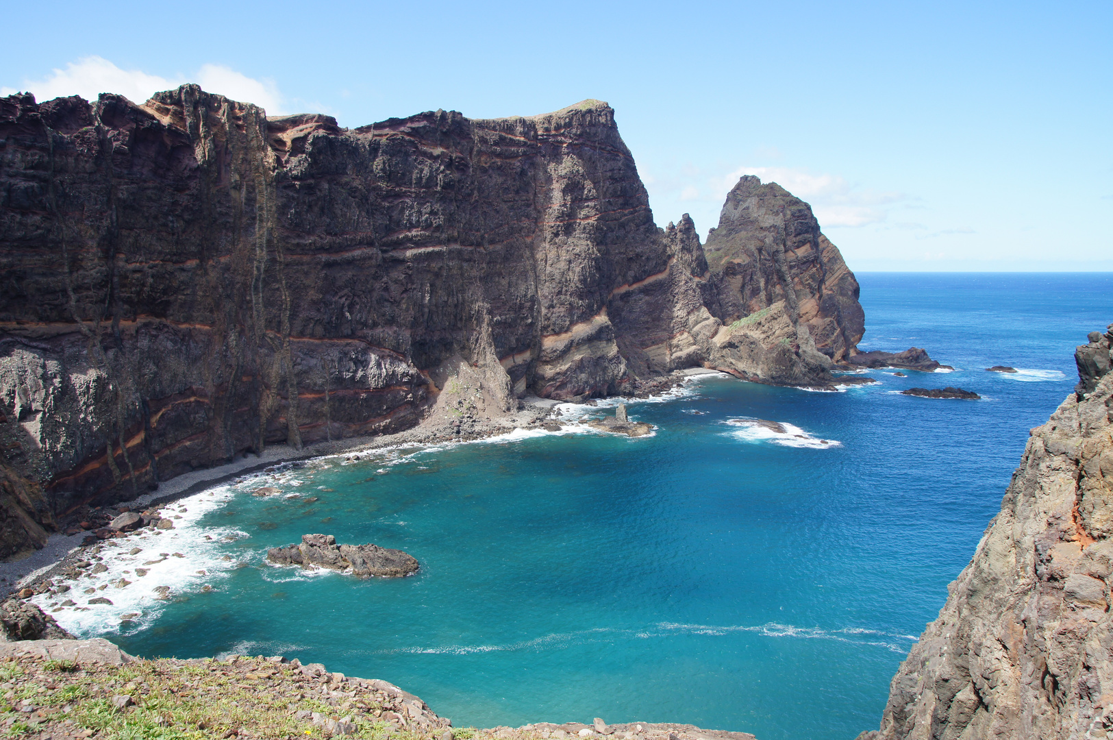 Die Steilküste Madeira's