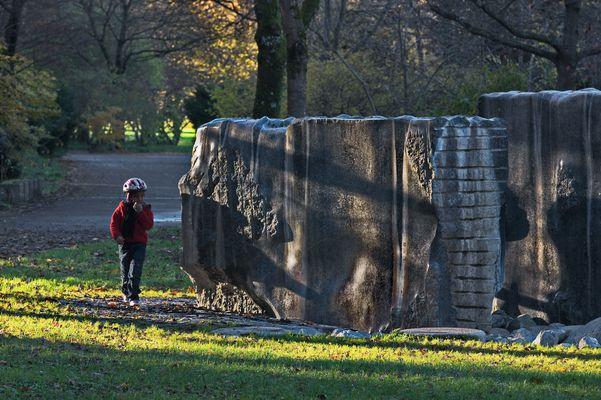 Die Steine im Westpark