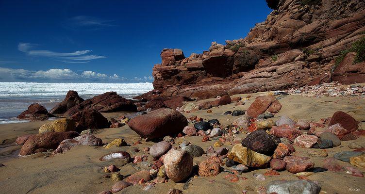 Die Steine vom Amado Strand