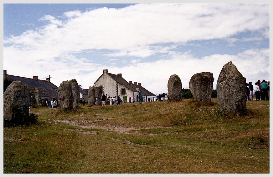 Die Steine von Carnac