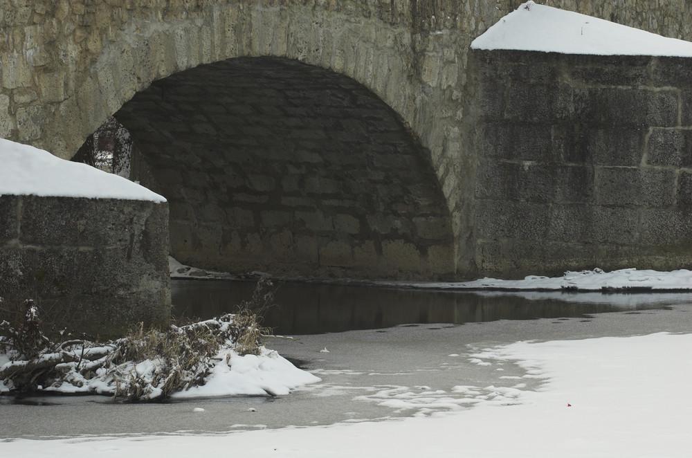 """Die """"steinerne"""" Brücke von Kallmünz               1"""