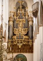 Die Stellwagen Orgel zu St. Marienkirche in Stralsund