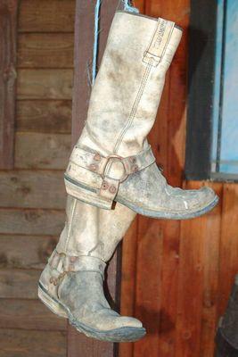 Die Stiefel v.B.Clayborn R.I.P.1882