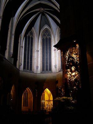 Die Stiftskirche St. Martin, Colmar, Alsace