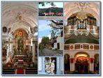 ... die Stiftskirche von Dürnstein ...